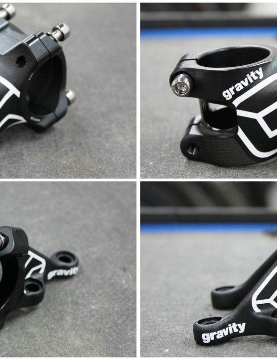 FSA's Gravity stems are not new, but they have been given a fresh lick of paint for 2015