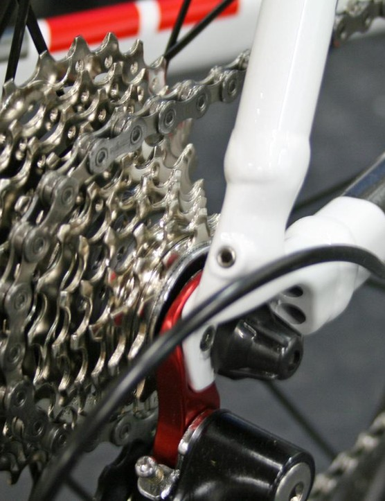 The bike now features a Shimano 105 11-speed cassette