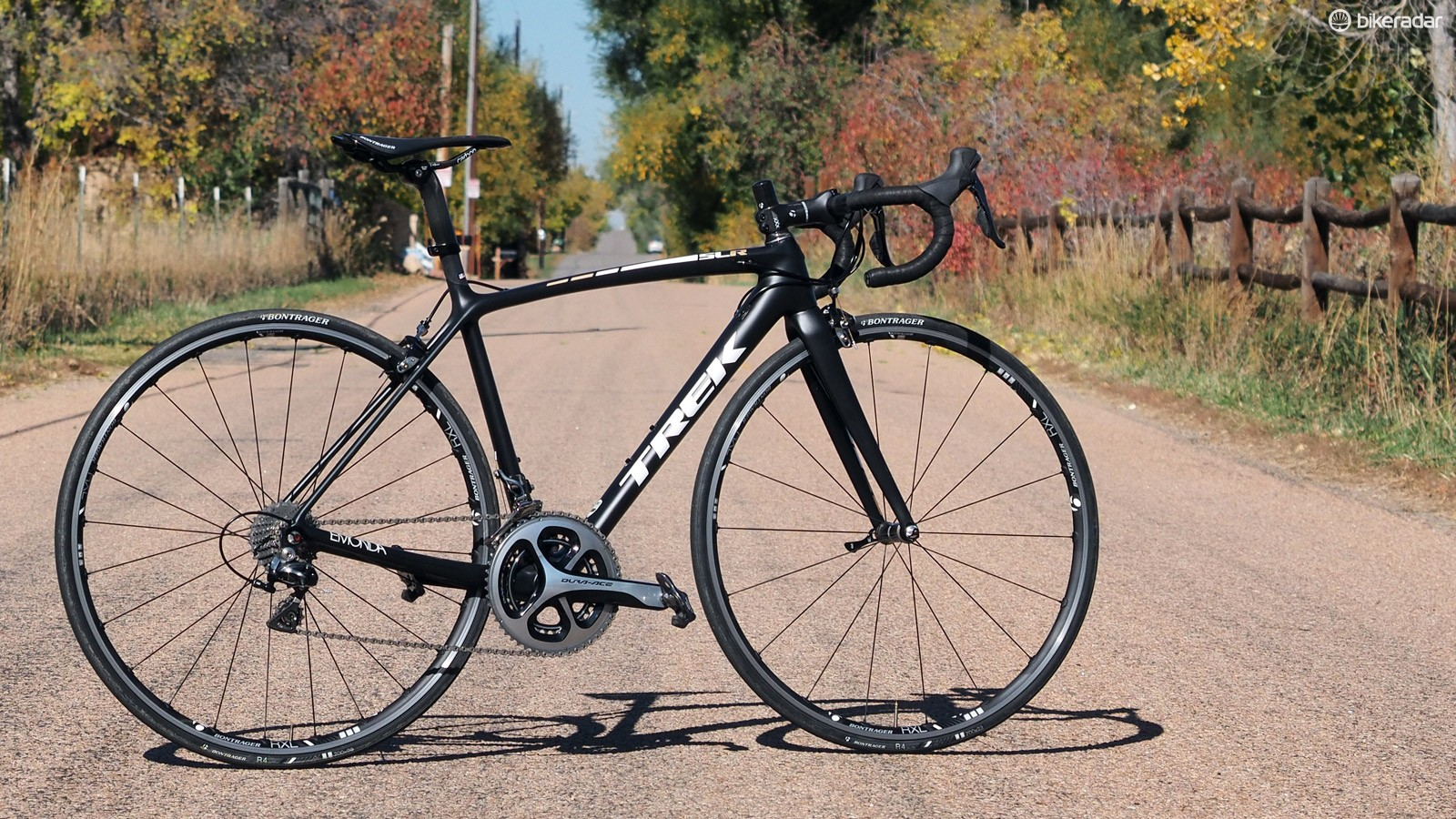 The new Trek Emonda SLR chassis is awesomely light and snappy but its very firm ride means you'll likely want to limit longer rides to smooth pavement