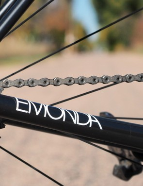 Trek says the 'Emonda' name is a play on the French word, émonde, which means 'to trim down' - a clever reference to the frame's ultralight weight. It's also a requisite anagram of 'Madone'