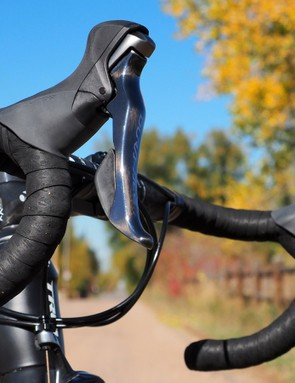 Our Trek Emonda SLR 8 test sample came with Shimano's excellent Dura-Ace mechanical group