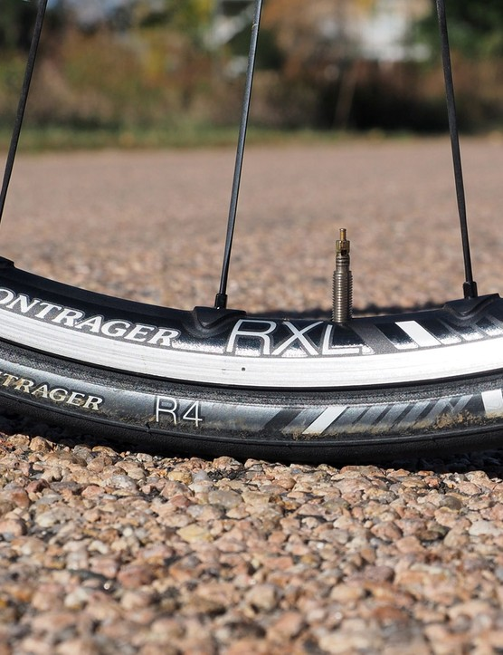 While some might question Trek's inclusion of a non-aero wheelset to the Emonda SLR 8 spec sheet, we say that the stock Bontrager Race X Lite TLR alloy wheels are excellent in their own right with impressively low weight, a relatively smooth ride quality, very good stiffness and tubeless compatibility