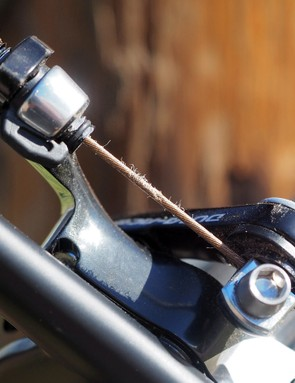 The coating on Shimano's Dura-Ace cables may be slick but it also seems rather prone to fraying
