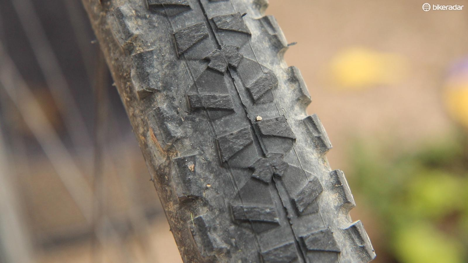 With Hutchinson ProtectAir sealant, we have picked up many thorns like this without having to stop