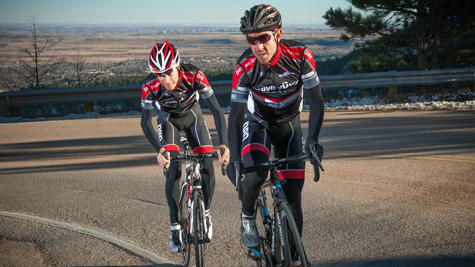 Ex-professional riders Ben Day and Chris Baldwin of DaybyDay Coaching