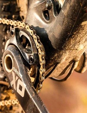 SRAM 1x11-speed is very much de rigueur