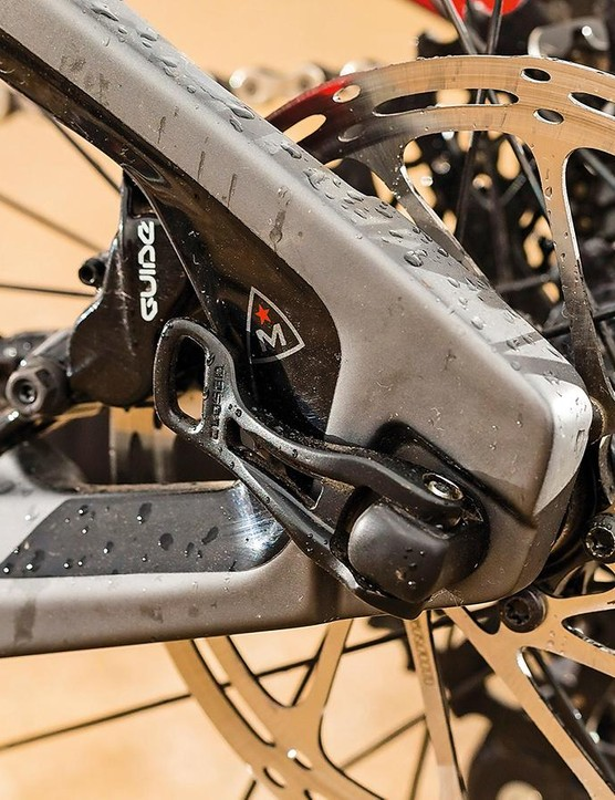 SRAM X01 transmission and solid Guide anchors are positives