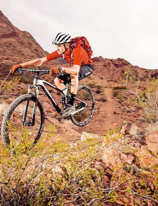 There's a Rift between this bike's intentions and its ability on the trail