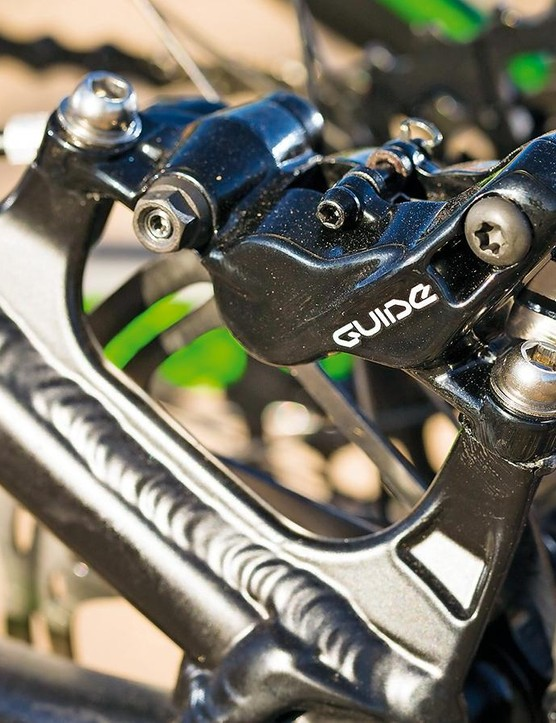 SRAM's Guide brakes are satisfyingly precise