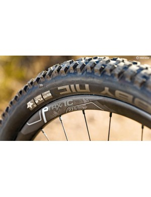 Schwalbe's Nobby Nic Evos are a solid match for the Trance
