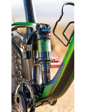 Short suspension links offer great front to rear stiffness