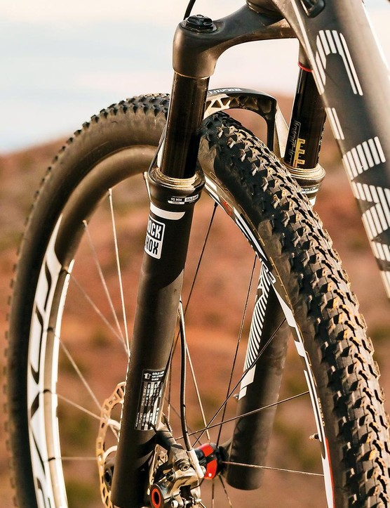 RockShox' SID fork features a similar valving to the rear unit