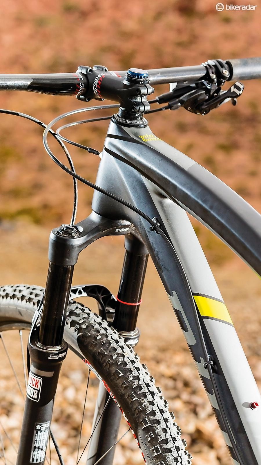Don't let the Pike fork fool you, the RDO is about flat-out racing not trail cruising