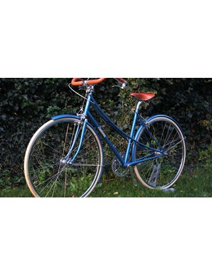The vintage-style bike was made for Man's fiancée Carol, to replace a much-loved commuter that was stolen