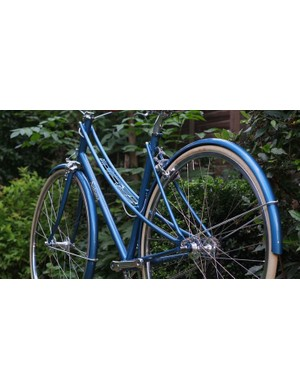 Despite being a classic frame design, this bike is easily distinguishable as SaiTong Man's work