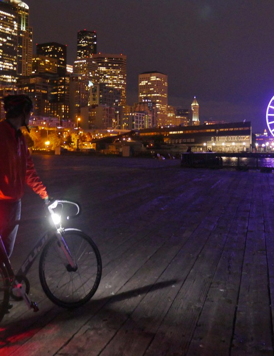 Orfos Flares are the brainchild of Seattle bike commuter and engineer Pete Clyde