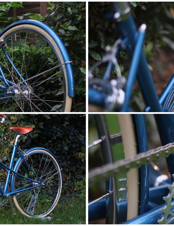 The mixte is the latest of only a handful of bikes created by SaiTong Man within his home in Cambridge