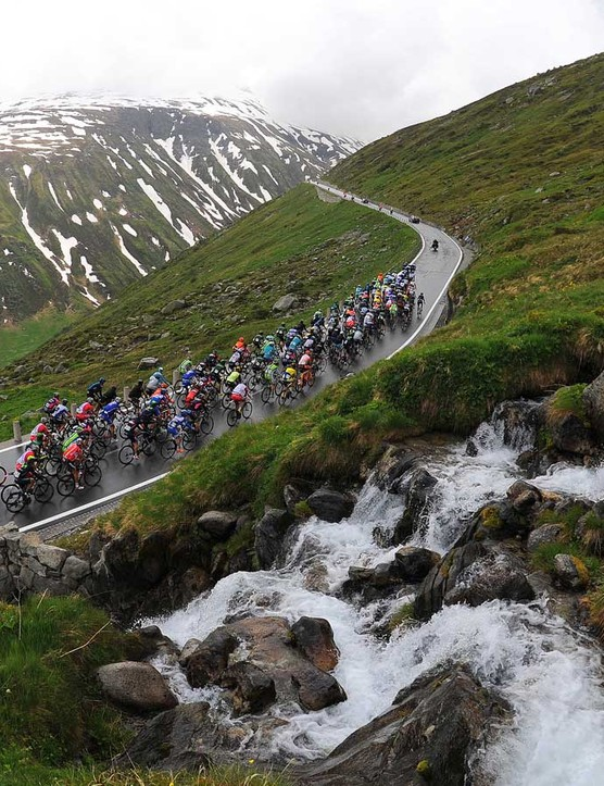 If you're cycling through fantastic scenery, take some time to admire it