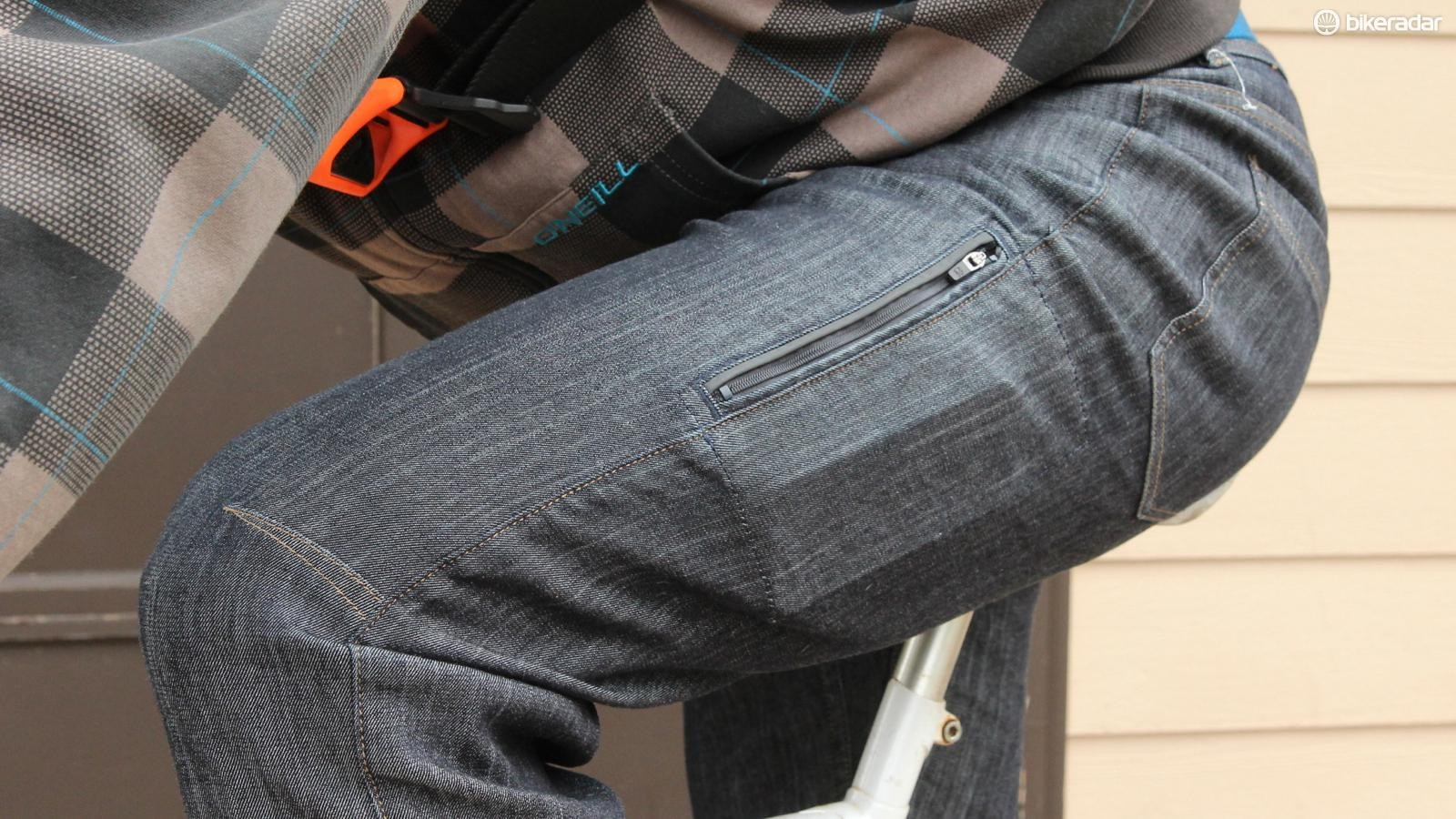 The side-zip phone pocket will make you wish all your jeans had such a feature