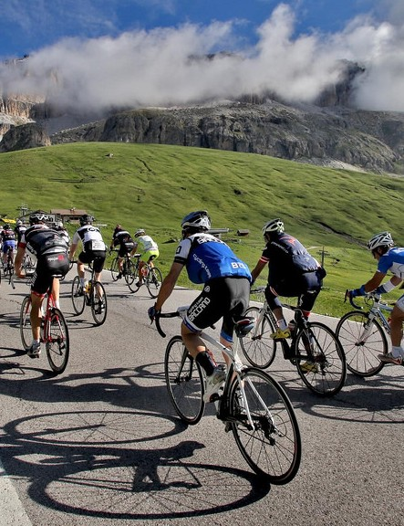 The Maratona dles Dolomites is stunningly beautiful as well as tough