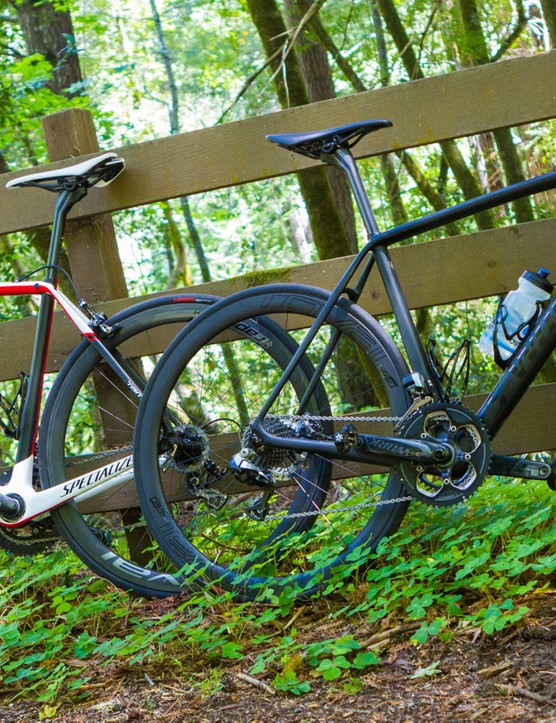 We rode the 2015 S-Works Tarmac and S-Works Tarmac Disc back to back on big rides at the launch, then spent a few months on the Tarmac Disc