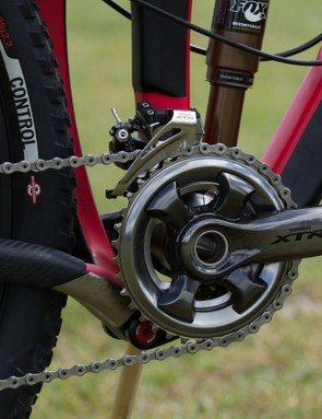 Another look at the new Shimano XTR M9000 crankset