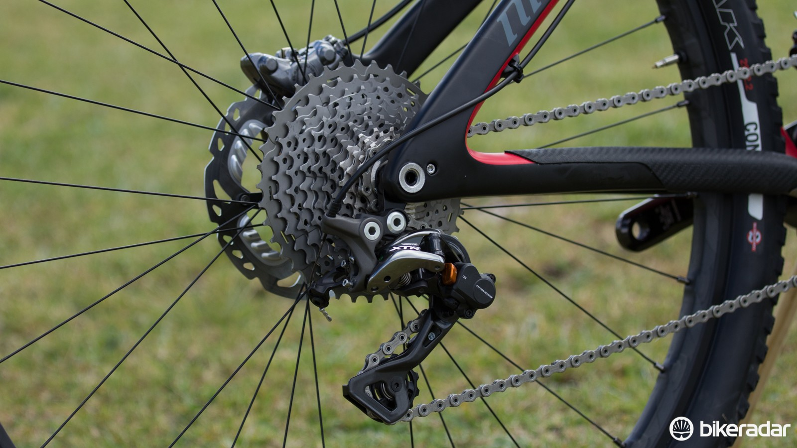 Another angle of the 11-40T XTR cassette