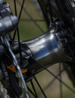 Twenty-eight butted, straight-pull spokes are featured in the new wheels
