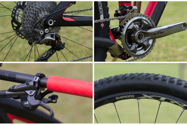 Shimano XTR M9000 11-speed groupset is all about options