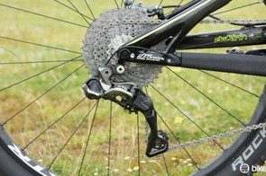 Another look at the XTR Di2 rear derailleur