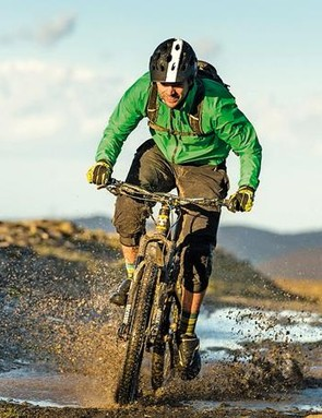 Clean off visible mud after every ride to help stop your waterproof's breathable membrane getting clogged