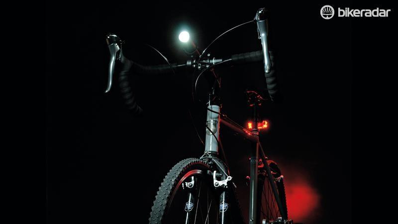 Bike Safety Light Set for Handlebars and Wheels 7 Flashing Speeds for Tires