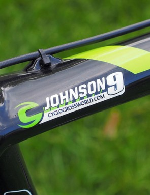 Tim Johnson (Cannondale-Cyclocrossworld.com) will race with the number 9 on his back all season