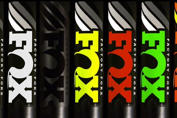 These decal kits are available at your local Fox-authorized bike shop