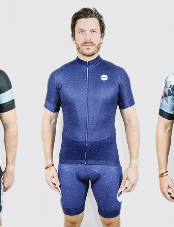 Cream Cycling kits are based around stylised minimalism and bold designs