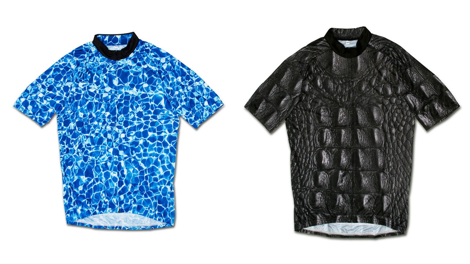 Is that a crocodile swimming in your pool? Nope just some of the jerseys from South Cycling