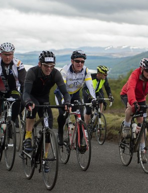 With the event taking place on the roads of Perthshire, there are incredible views all around