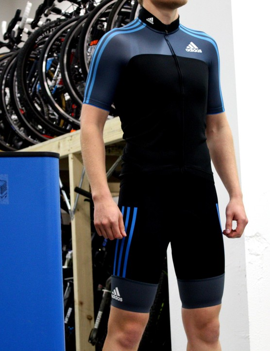 Adidas adistar jersey and bib shorts
