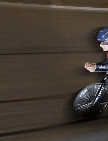 Matthias Brändle set a new world hour record beating Jens Voigt's mark last month