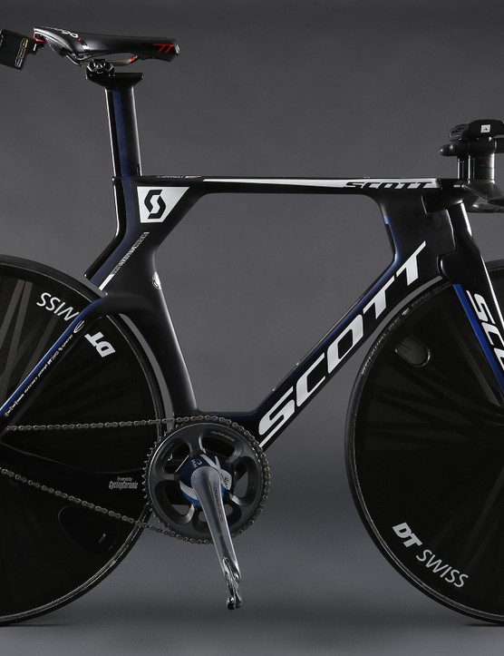 The bike used for Brändle's Hour Record used a pair of Lightweight disc wheels