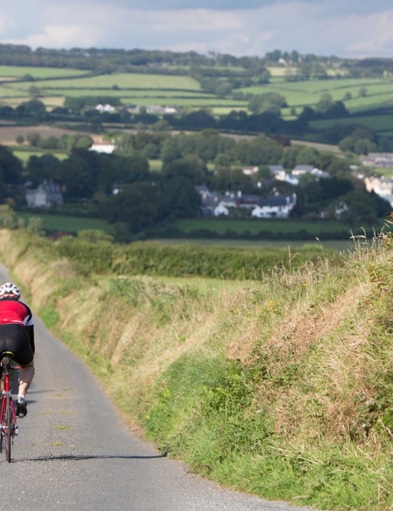 The routes feature plenty of quiet lanes weaving through gorgeous countryside