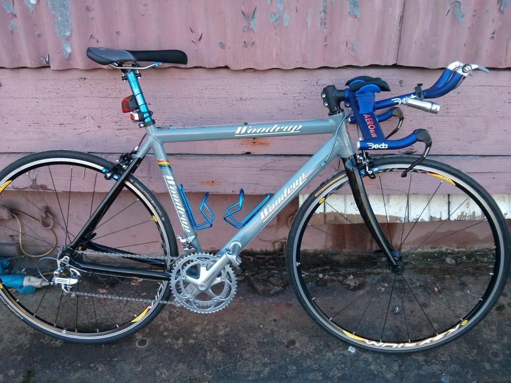 Woodrup time trial bike of Sol Findley