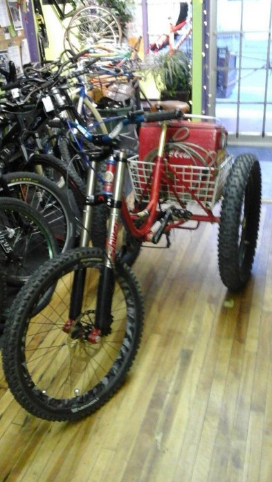 TheBikePedaler's fat trike