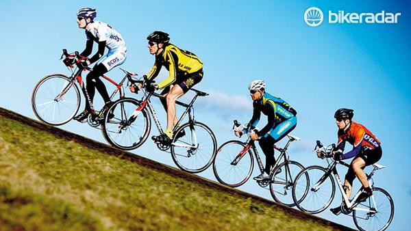 Group riding and climbs are great for sweet spot training – try combining the two!