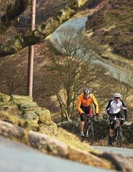 If you've hit the sweet spot, you won't be able to chat easily with your riding buddy
