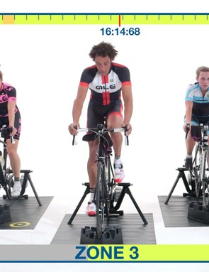 Don't forget to check out the video for turbo trainer sweet spot workout