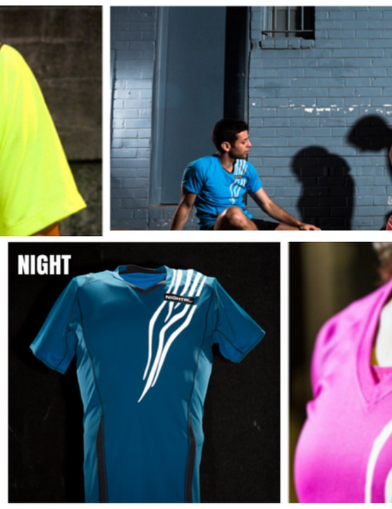 The Nightro Athletic shirt offers some new wearable visibility technology that could be a sign of things to come in cycling