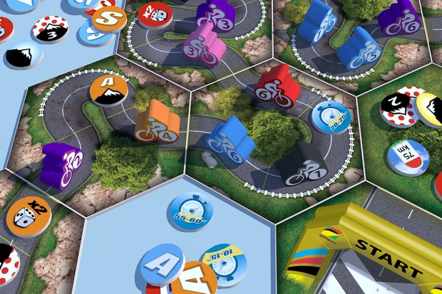 The Cycling Party board game has already surpassed its goal on Kickstarter
