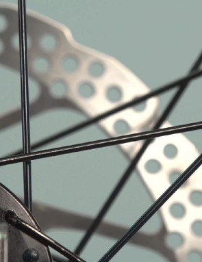 Be sure to study the other spokes and thread your replacement in the same pattern
