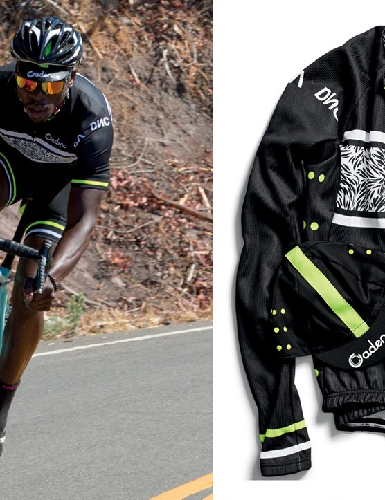 Cadence's Pro Motion short and long-sleeved kit